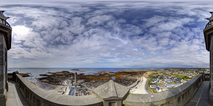 Visite virtuelle du phare d'Eckmuhl